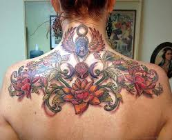 39 adorable flower tattoos on back