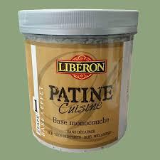 enduit cuisine lessivable liberon patine cuisine base monocouche etape 1 1l olivier pas cher