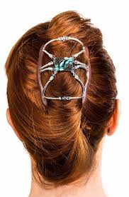 hair bun clip with open to see hair bun clip for women with thick