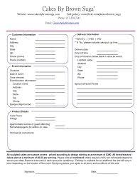 wedding cake order form the 25 best cake order forms ideas on