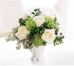 White Roses Centerpieces by Roses In Mint Julep Cup Centerpieces Budget Brides Guide A