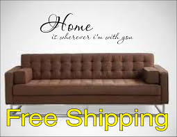 home wherever with you vinyl lettering wall decal lettering wall decal sticker home free shipping zoom