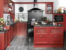 cuisine bordeaux mat decoration cuisine moderne