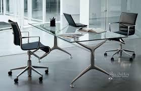 tavoli design cristallo tavolo alias frametable 190 in cristallo design al arredamento e