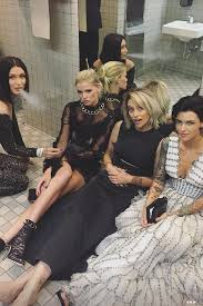 paris jackson grammy awards 2017 wallpapers paris jackson and her friends and is that ruby rose in the white