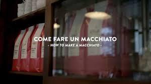 espresso macchiato double how to prepare an espresso macchiato youtube