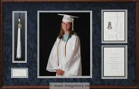 graduation shadow box high school photo invitation with tassel jpg