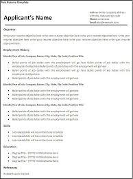 template of resume hitecauto us