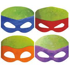 nickelodeon teenage mutant ninja turtles paper masks 8