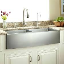 kraus farmhouse sink 33 33 stainless steel farmhouse sink optimum offset double bowl