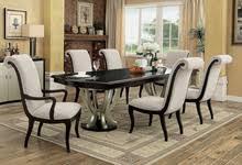 Espresso Pedestal Dining Table Pedestal Dining Tables Formal Dining Tables Efurniturehouse