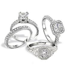 Engagement Ring Vs Wedding Ring by Pros And Cons Antique Ring Settings Vs Vintage Inspired