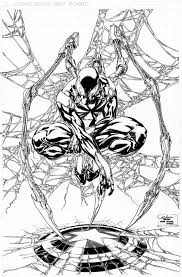 iron spider man commission by spiderguile on deviantart