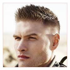 haircuts in style for men with military haircut 5 brush cut with