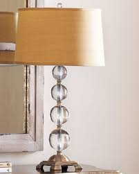 Small Table Lamp With Crystals Lamp Collection Floor U0026 Crystal Table Lamps At Neiman Marcus