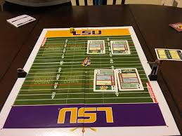 spice it up with hand off the card football board game lsu