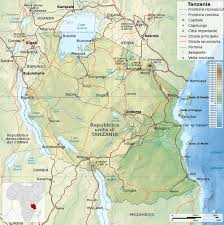 World Map With Cities by Tanzania Map With Cities Blank Outline Map Of Tanzania
