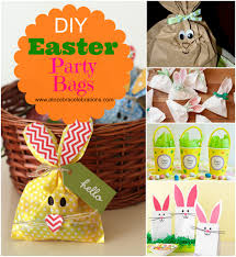 easter bags diy easter party bags a to zebra celebrations