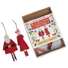 make your own mr u0026 mrs santa dolly pegs christmas crafts