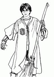 harry potter coloring pages kids coloring