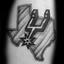 30 san antonio spurs tattoos for men basketball ink ideas