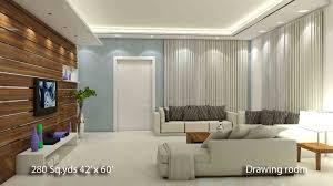 Home Hall Furniture Design Way2nirman 280 Sq Yds 42x60 Sq Ft North Face House 3bhk Isometric