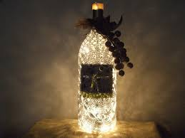 Upcycled Wine Bottles - upcycled large 1 5 liter glass wine bottle lamp by jeremyzombie on
