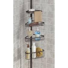 Interdesign Bathroom Accessories by Interdesign York Tension Bath Tub Caddy Bronze Kitchen Stuff Plus