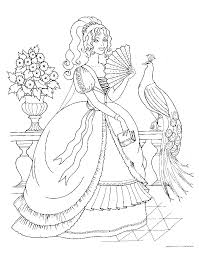 princess coloring pages the sun flower pages