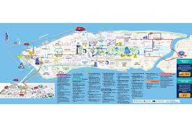 Overview Map Of New York City by Hop On Hop Off New York 1 Route City Sightseeing