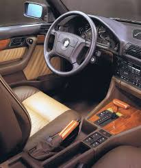 interior bmw 525i selection jp spec e34 u00271995