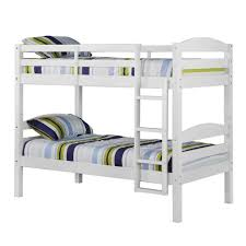Embrace Loft Bed Set Convertible Twin Solid Wood Construction Bunk Bed