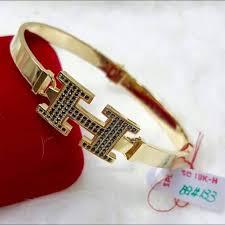 gold bracelet hermes images 18k 750 gold hermes bangle luxury on carousell jpg