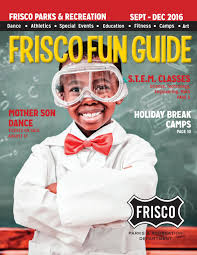 stonebriar mall thanksgiving hours frisco fun guide fall winter 2016 by frisco parks u0026 recreation