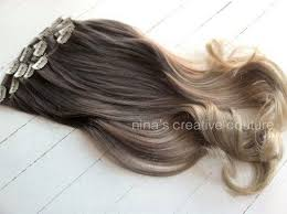ombre clip in hair extensions ash ombre hair ombre clip in hair extensions ash