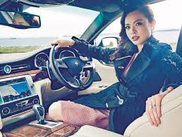 maserati woman meet the high flying banker with a maserati female