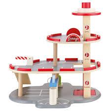 buy john lewis 3 tier wooden toy garage play set john lewis