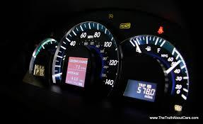 2012 toyota camry hybrid interior gauges photography courtesy