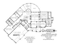 Garage House Floor Plans Nantahala Cottage 3 Car 2893 House Plan House Plans By Garrell
