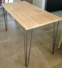 plateau bois pour bureau plateau bureau bois massif bureau bois massif et pieds acpingles