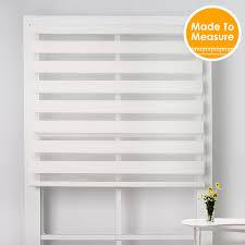 Zebra Valance Curtains Aliexpress Com Buy Free Shipping Translucent White Zebra Blinds