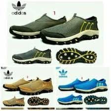 Sepatu Adidas Slip On saya menjual sepatu adidas casual wanita slop santai jalan shoes