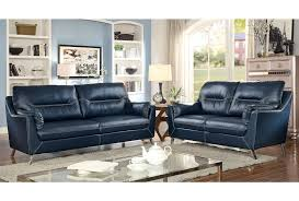 Navy Blue Leather Sofa Blue Leather Sofa For Remodel 5 Scarletsrevenge