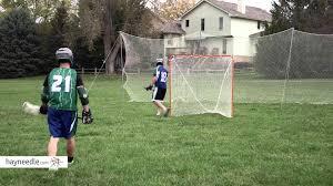 diy lacrosse goal lion sports lacrosse backstop net product review video youtube