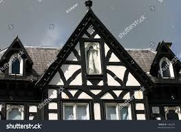 tudor style cottage tudor style house chester uk stock photo 1462299 shutterstock