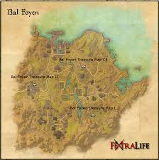 bal foyen treasure map bal foyen treasure maps elder scrolls wiki