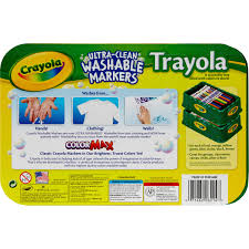 washable paint for walls crayola trayola washable fine tip markers six sets of eight