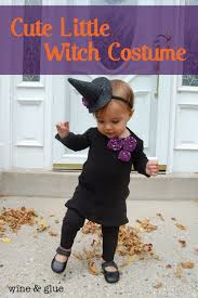 cute little witch costume from wine and glue featured on