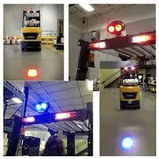 blue warning lights on forklifts xrll12v 24v forklift traffic safety lights blue point led light