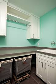 tiffany blue laundry room transitional laundry room homes by